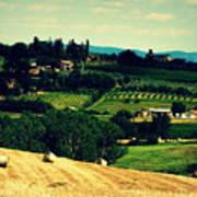Tuscan Country Art Print