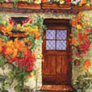 Tuscan Door Art Print