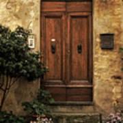 Tuscan Entrance Art Print by Andrew Soundarajan