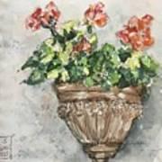Tuscan Floral Art Print
