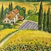 Tuscan Italy Art Print