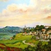 Tuscan Landscape Art Print