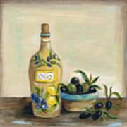 Tuscan Olive Oil  Art Print