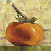 Tuscan Persimmon Art Print by Pam Talley