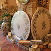 Tuscan Pottery Art Print