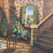 Tuscan Retreat Art Print