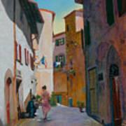 Tuscan Street Art Print