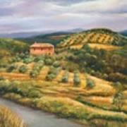 Tuscan Summer Art Print