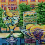 Tuscan Summer Lemonade  Art Print