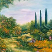 Tuscany Atmosphere Art Print by Hannibal Mane