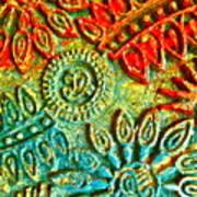 Tuscany Batik Art Print