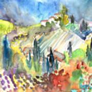 Tuscany Landscape 03 Art Print