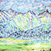 Tusheti Hay Meadows Caucasus Mountains I Art Print