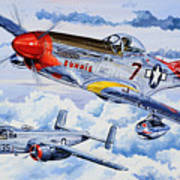 Tuskegee Airman Art Print by Charles Taylor