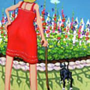 Tuxedo Cat - Edens Garden Art Print