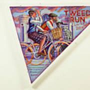Tweed Run London Princess And Guvnor  Art Print