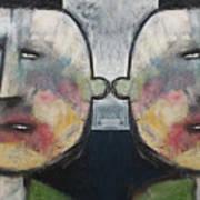 Tweedledee And Tweedledum Art Print