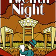 Twelfth Night Poster Art Print