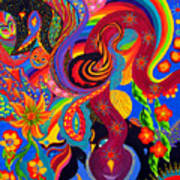 Serpent Descending Art Print