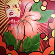 Twiggy Art Print by Stephen  Barry