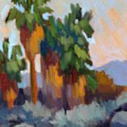 Twilight At Indian Canyons  Art Print