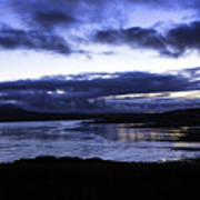 Twilight At Loch Bracadale Art Print
