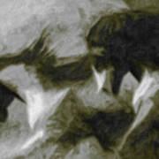 Twilight In Mescalero Art Print