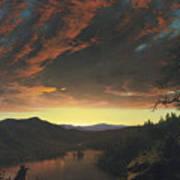 Twilight In The Wilderness Art Print