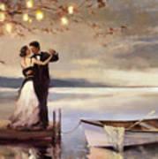Twilight Romance Art Print