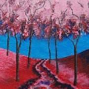 Twilight Woods Art Print
