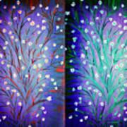Twin Beauty-2 Art Print