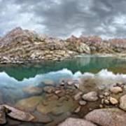 Twin Lakes - Weminuche Wilderness - Colorado Art Print