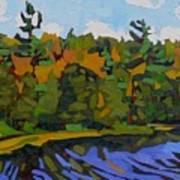 Twin Pines Art Print
