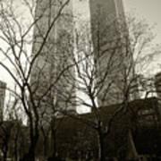 Twin Towers Art Print