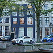 Twisted Panorama. Amsterdam Art Print