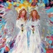 Two Angels Art Print