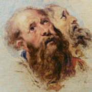 Two Apostles Print by Rubens