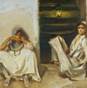 Two Arab Women Art Print