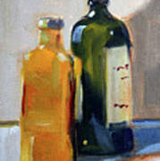 Two Bottles Art Print