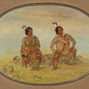 Two Choctaw Indians Art Print
