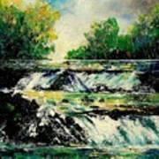 Two Falls Art Print