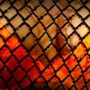 Two Handfuls Of Oranges Art Print