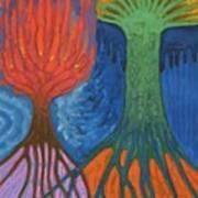 Two Hills Art Print