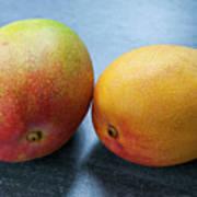 Two Mangos Art Print