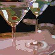 Two Martini Lunch Art Print