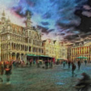 Two Nights In Brussels #21 Season's End Art Print