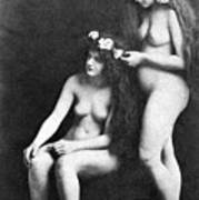 Two Nudes, 1913 Art Print