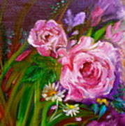 Two Pinks Jenny Lee Discount Art Print