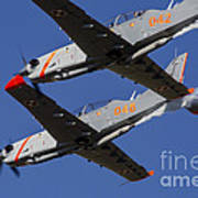 Two Pzl-130 Orlik Trainers Art Print
