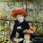 Two Sisters Art Print